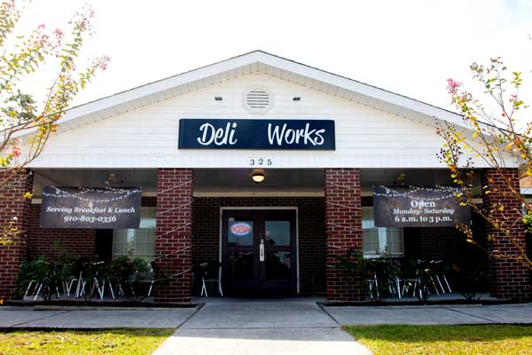 Deli Works Holly Ridge NC Entrance