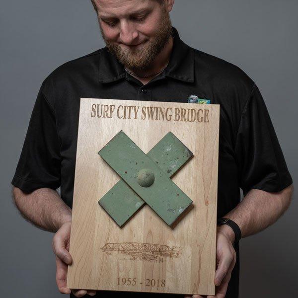 Jeff Wenzel Surf City Bridge NC
