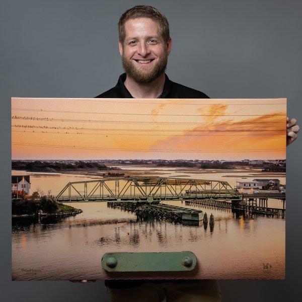 Jeff Wenzel Surf City Swing Bridge NC