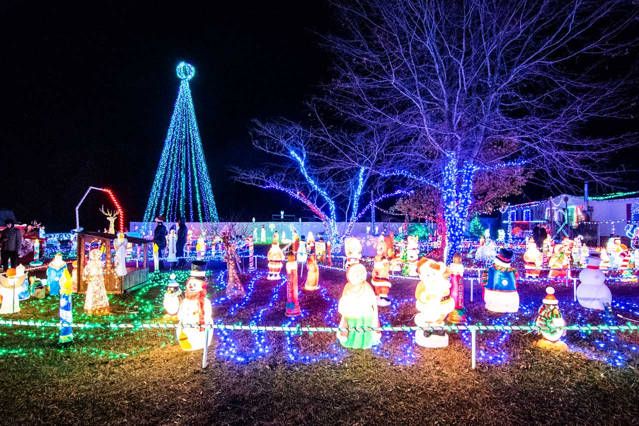 Lake Linda Lights Hampstead NC