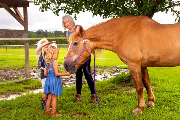McKenna Burgaw NC Horse to Church