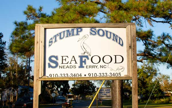 Stump Sound Seafood Sneads Ferry NC