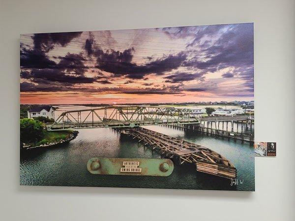 Surf City Bridge Canvas NC