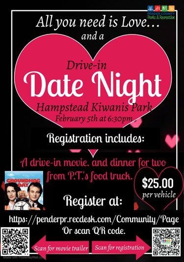 Hampstead Valentines Drive In