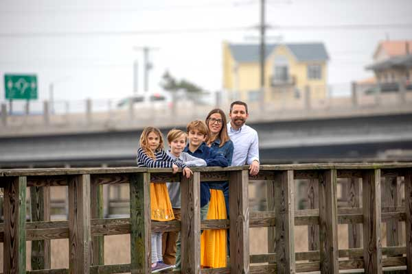Tanner Gray Family Surf City NC
