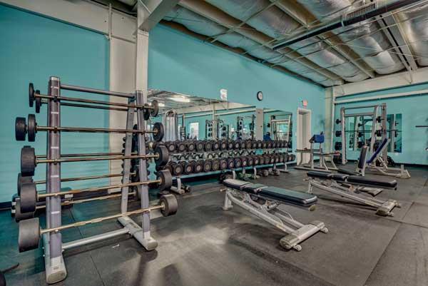 Weight Room Surf City Fitness NC