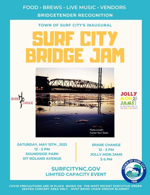Bridge Jam 2021 Surf City NC