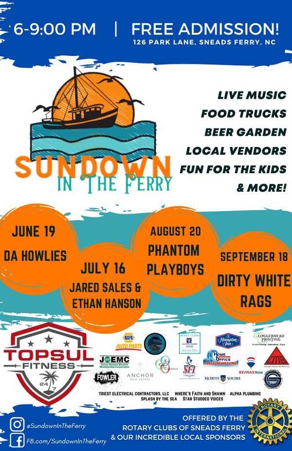 Sundown Concert Series in The Ferry