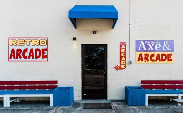 Holly Ridge NC Paradise Axe and Arcade