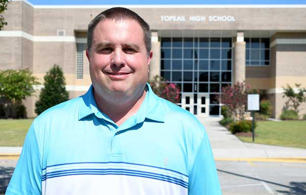 Chris McGee Athletic Director Topsail High School