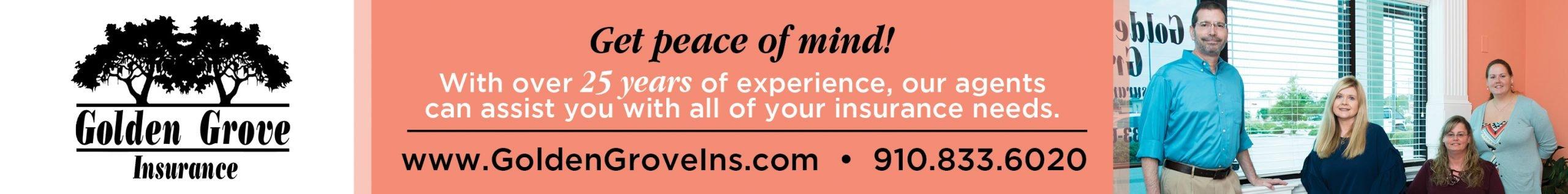 Sponsored by Golden Grove Insurance