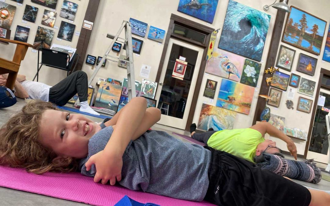 Emergent:  Yoga Poser