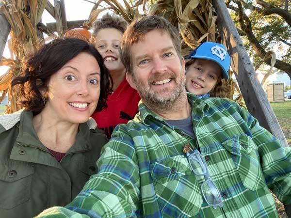 Mike Johnson Family Fall 2021 NC