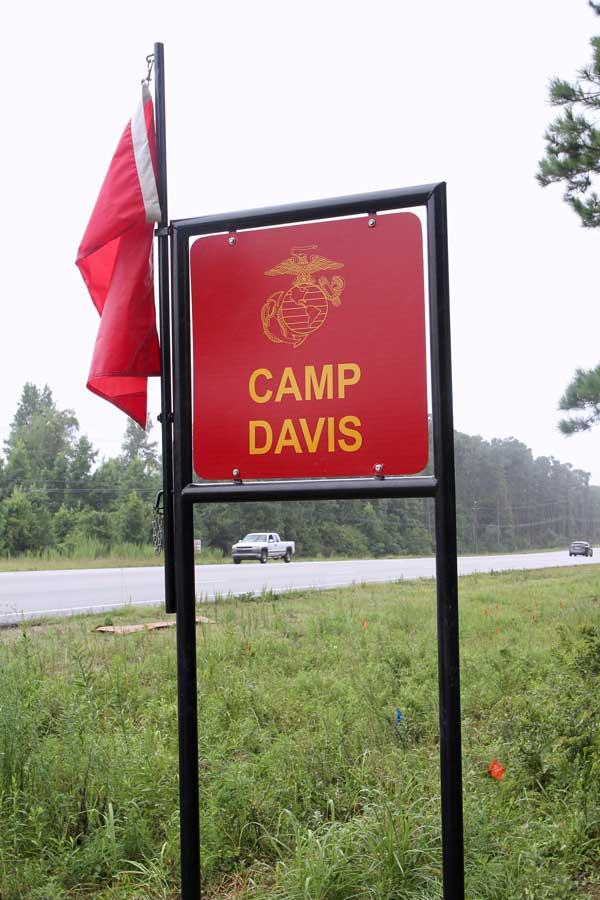 Pender County NC Camp Davis