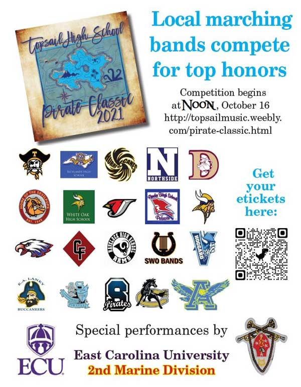 Topsail High School Band Competition